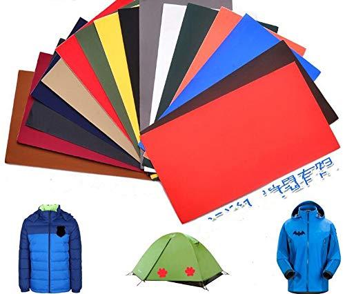 CHENGYIDA 10 Verschillende Kleur Reparatie Kleding Patch Zelfklevende Patches Wasbare Sticker Gratis DIY Jas Kleding Regenjas Paraplu Decoratie 10X20CM