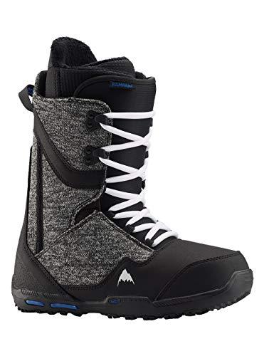 Burton Herren Rampant Snowboard Boot, Black/Blue, 7.0
