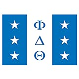 Greekgear Phi Delta Theta Flag Decal Sticker