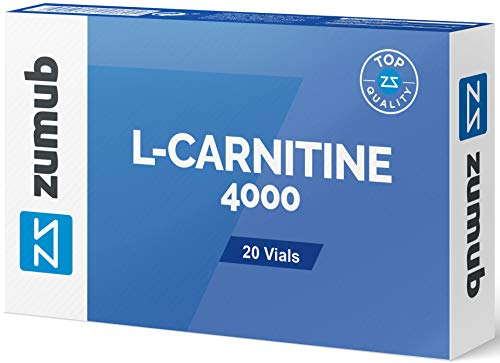 L-Carnitine 4000 Zumub 20x10ml Viales sabor a limon