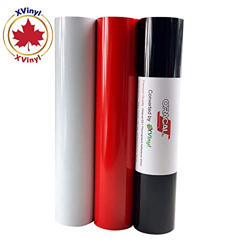 Free Maple Leaf Decal Oracal 651 Matte Black Permanent Adhesive Vinyl Roll 12 x 5FT