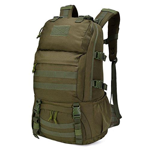 Mardingtop 40L Zaino Militare/Tattico Molle/Campeggio/Zaino di Assalto/Escursionismo/Sport/Patrol Camping
