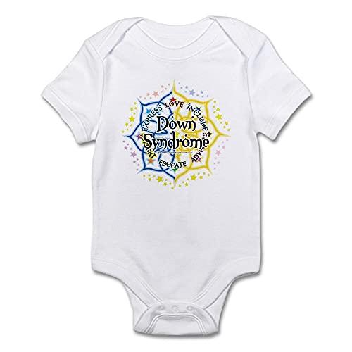 ABADI Body de bebé con síndrome de Down Lotus