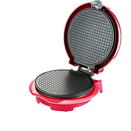 YGB Tragbare elektrische Antihaft-Knusper-Omelett-Waffeleisen Crêpe-Eierbrötchen-Backform Pfannkuchen-Backgeschirr Eistüte Machine Pie Grill