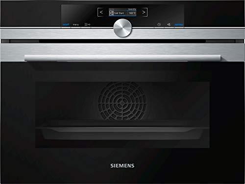 Siemens iQ700 CB635GBS3 forno Forno elettrico Nero, Acciaio inossidabile A+