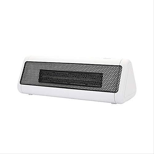 Calefactor eléctrico portátil de 300 W, Fiebre, pequeño espacio de escritorio, para casa, oficina, casa, A blanco