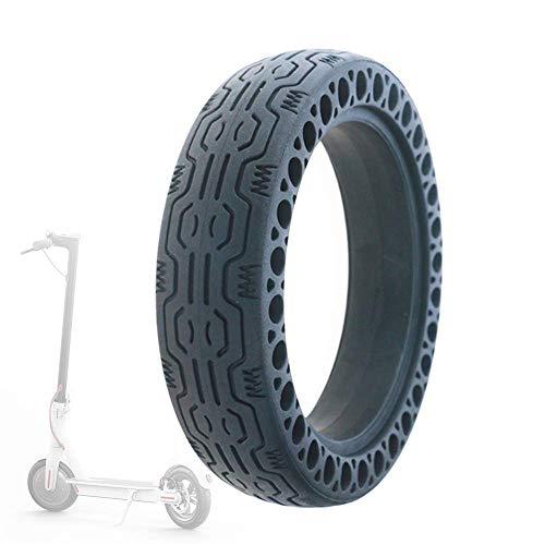 Neumáticos para patinetes eléctricos, 8 1/2X2 Color Honeycomb Neumáticos sólidos a Prueba...