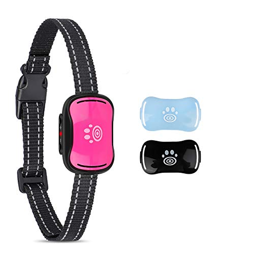 Small Dog Bark Collar, Humane No Shock Bark Collars for Small, Medium Dogs, Pet Training Collars