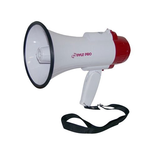 New PYLE RPO PMP35R Handheld Megaphone Bull Horn w/Siren Voice Recorder by Pyle