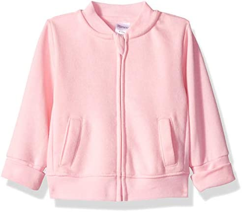 Hanes unisex baby Ultimate Zippin Fleece Jacket Sweater Pink 12 18 Months US product image