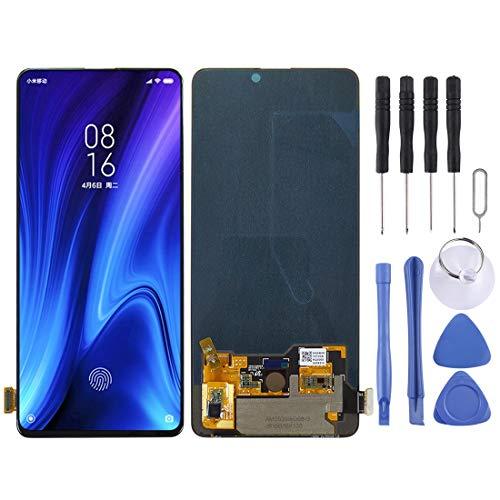 Zhangl - Schermo LCD per cellulare LCD e digitalizzatore per Xiaomi Redmi K20 Pro / K20 / Mi 9T, colore: Nero