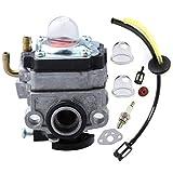 Janrui Carburetor for Walbro WYL-240-1 WYL-196 MTD MP425 MP425 Replace 753-1225 753-05251 with Fuel Line Primer Bulb