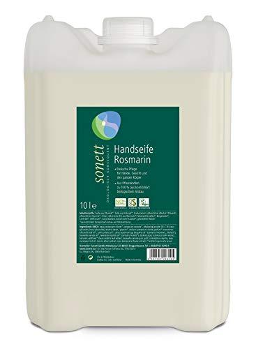 Handseife Rosmarin: Basische Pflege für Hände, Gesicht und den ganzen Körper, 10 l