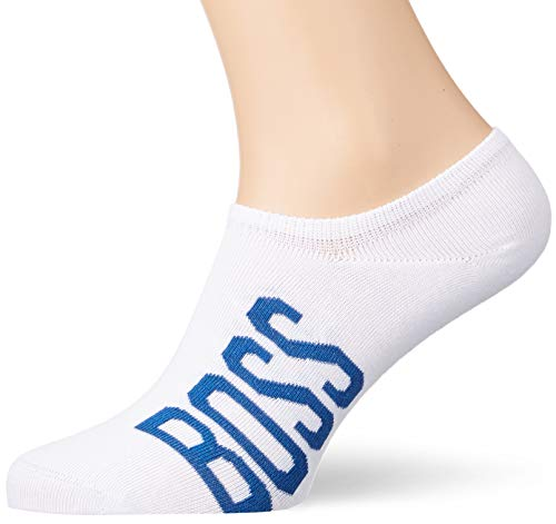 BOSS As Low Cut CC Calcetines, Blanco (White 100), 43/46 (Talla del fabricante: 43-46) para Hombre
