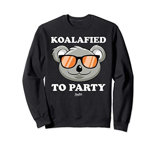 Koalified To Party Koala Sweatshirt