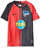 NIKE Hbsc Y Nk BRT Stad JSY SS AW Camiseta Fútbol, Unisex niños, University Red/(Black) (Full Sponsor), XS