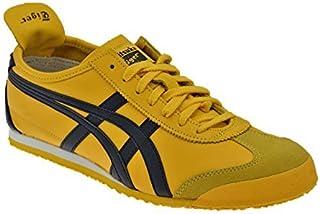 Onitsuka Tiger Mexico 66 Yellow Black Mens Trainers 8 US [並行輸入品]