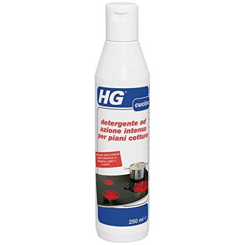 HG detergente ad azione intensa per piani cottura in vetro ceramica