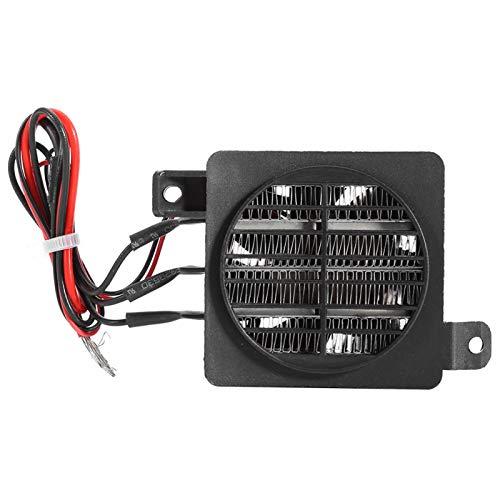 Calentador de ambiente, ventilador PTC, calefactor eléctrico con agujeros de fijación, calentamiento rápido, pequeño calefactor para humidificadores para electrodomésticos (24 V, 250 W)