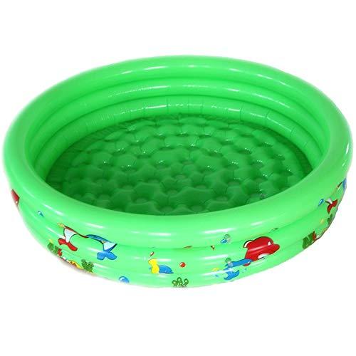 Naixin Aufblasbarer Pool, 3 Ringe Kreise Aufblasbarer Kinderpool für Sommerwasserparty, 35