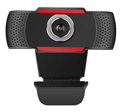Techly 361438 Webcam USB Full HD Nero