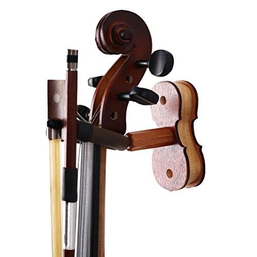 ULTNICE Geige Aufhänger Mount Wandaufhänger für Violine Home Studio Wand Aufhänger