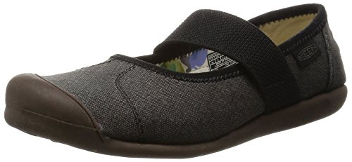 KEEN Damen Canvas-W Sienna Mj Damenschuhe, Leinen, New Black, 36 EU