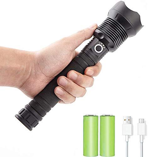 Led Taschenlampe 90000 Lumen Xhp70.2 Leistungsstärkste Taschenlampe 26650 USB-Taschenlampe Xhp70 Xhp50 Laterne 18650 Jagdlampe Handlicht
