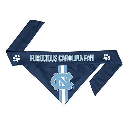 Littlearth NCAA Pet Reversible Bandana Graphics on Each Side North Carolina...