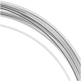 Beadsmith 21 Ga Square Copper Craft Wire Silver Plate 42848