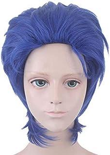 Jonathan Joestar Wig for JoJo's Bizarre Adventure: Phantom Blood, Anime & Game Play Cosplay Costume Accessories, Blue Shor...