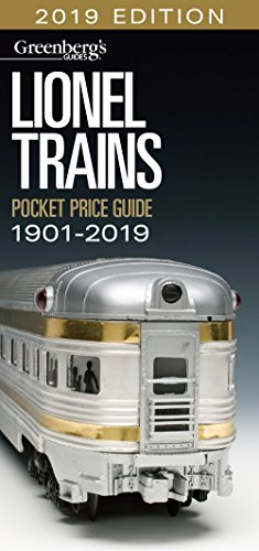 Lionel Trains Pocket Price Guide 1901-2019 (Greenberg's Guides)