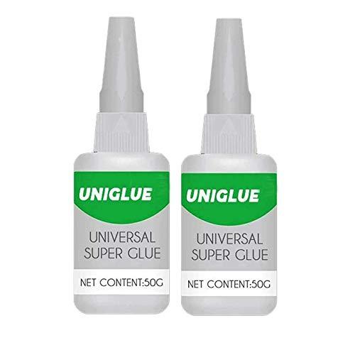 LELEBEAR Welding High-Strength Oily Glue, Uniglue Mighty Instant Universal Super Glue, for Resin Ceramic Metal Glass