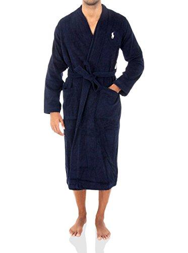 Polo Ralph Lauren Kimono Robe S/3XL, Bleu (ruise Navy 001), S/M Homme