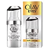 Olay Eyes Illuminating Eye Cream with Niacinamide for Dark Circles, 15ml