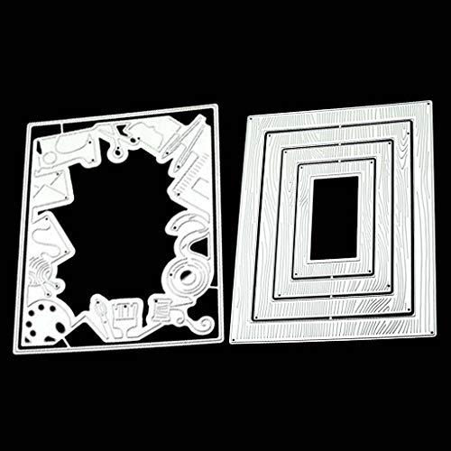 llwei258 Cutting Dies Metalen Stencils Scrapbooking Tool DIY Craft Koolstofstaal Embossing Sjabloon voor kaart maken Photo Album Decoratie