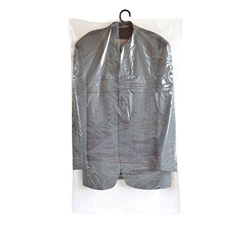 Super praktische Kleiderschutzhüllen - 20 Stück (1 Set) - Maße: 150 cm lang - extra lang - x 60 cm breit - 20my stark - transparent - super preisgünstig