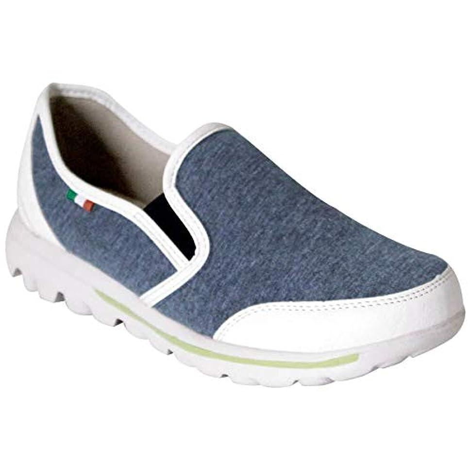 吸収剤アイデアズーム[Scramble] PARTAM SPORTS 軽量 スリッポン 軽い 歩きやすい 靴 レディース ペタンコ フラットシューズ