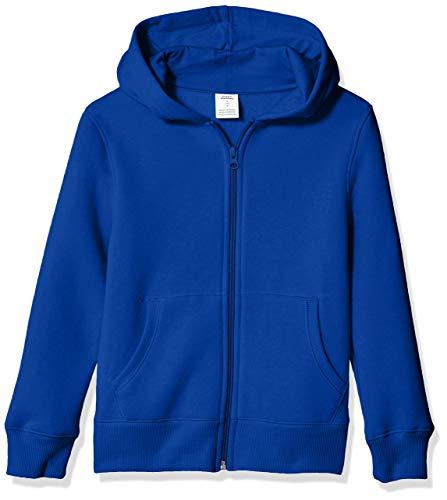 Amazon Essentials Fleece Zip-up fashion-hoodies, Blau (Royal Blue), ((Herstellergröße: X-Small)