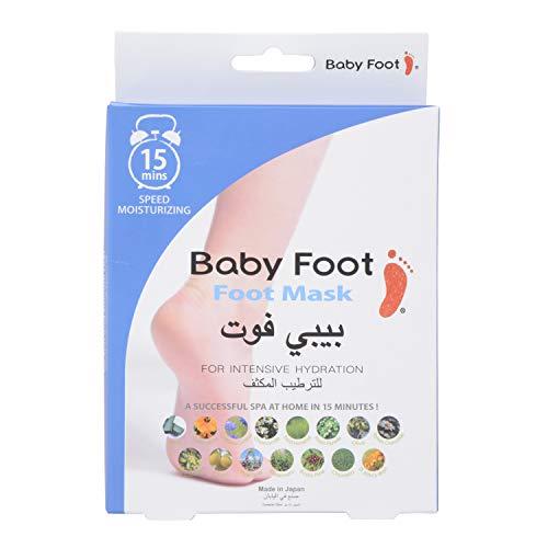 Masque hydratant pour pieds de bébé