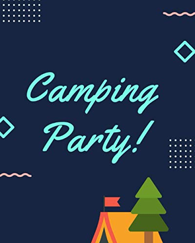 Camping Party: Family RV Travel Logbook
