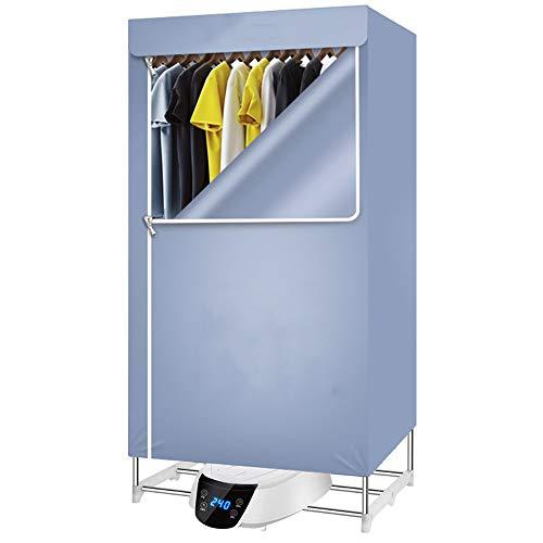 GTRR Pequeño Secador Plegable Hogar Ropa Interior Dormitorio Limpieza Silenciosa Ropa De Casa Secadora Máquina Secadora De Ropa