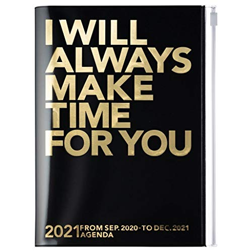 Mark\'s Europe 2020/2021 Taschenkalender A5 vertikal, MAKE TIME Black NA