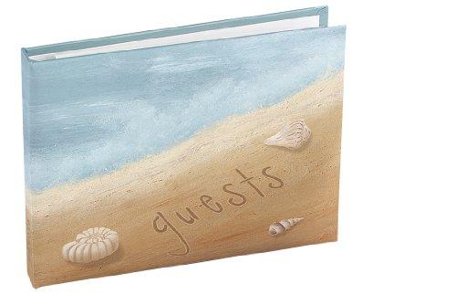 Hortense B. Hewitt Seaside Jewels Guest Book, 7.5 x 5.75-Inches