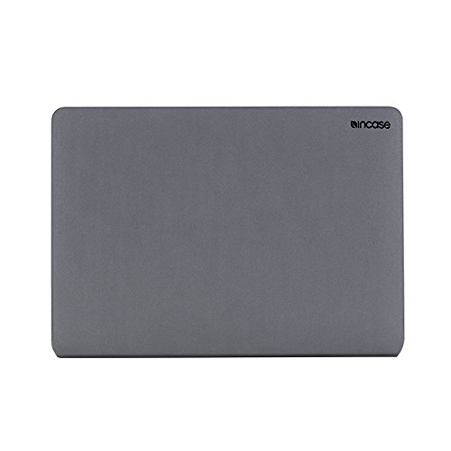 Incase Faux-Leather Protective Snap Jacket for 13-Inch MacBook Pro Thunderbolt 3 USB-C - Grey