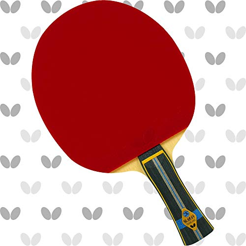Butterfly Zhang Jike ALC Blade & Tenergy 80 Rubber Shakehand Table Tennis Racket | Pro-Line Series | Mix Of Speed, Spin & Feel For Balanced Topspin Play | Recommended For Aspiring Professional Players