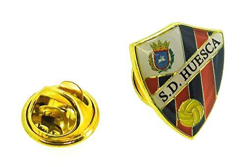 Gemelolandia | | Pin de Solapa S.D. Huesca | Pines Originales Para Regalar | Para las Camisas, la Ropa o para tu Mochila | Detalles Divertidos