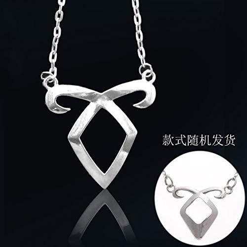 Koehope 1 STÜCK Charm Chain Angelic Power Rune Halskette Anhänger Hot