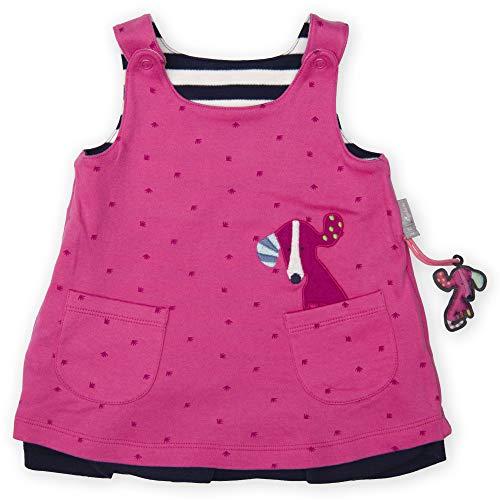 Sigikid Baby - Mädchen Wendekleid Kleid,, per pack Rosa (shocking pink 682), 68 (Herstellergröße: 68)