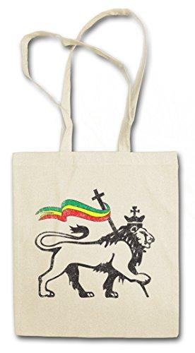 Urban Backwoods Lion of Judah II Hipster Bag Beutel Stofftasche Einkaufstasche